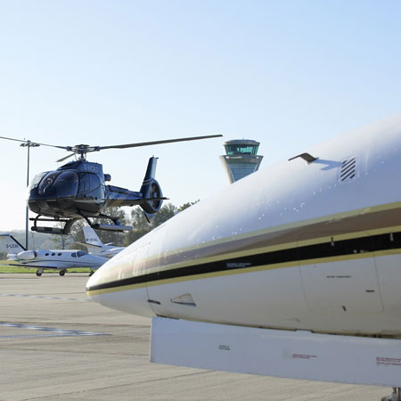 Helicopters and Private jet Hire